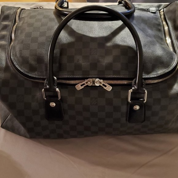 Louis Vuitton Duffle Roadster 50 Damier Graphite